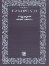 Canon In D - Piano Solo