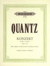 Quantz Johann Joachim - Flute Concerto In G Major - Flute And Piano