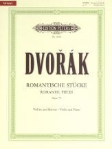 Dvorák Anton - Romantic Pieces Op.75 - Violin And Piano