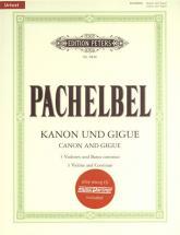 Pachelbel J. - Kanon Und Gigue D-dur - 3 Violons Et Bc + Cd