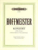 Hoffmeister Franz Anton - Concerto In D - Viola And Piano