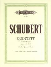 Schubert Franz - Quintet In A 'trout' Op.114/d667 - Piano Quintets