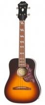 Epiphone Hummingbird Acoustic/electric Ukulele Outfit Tenor Tobacco Sunburst