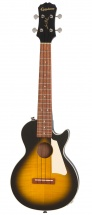 Epiphone Les Paul Acoustic/electric Ukulele Outfit Tenor Vintage Sunburst