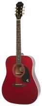 Epiphone Dr-100 Acoustic Wine Red