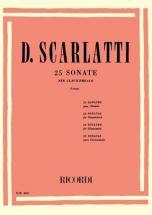 Scarlatti D. - 25 Sonate - Piano