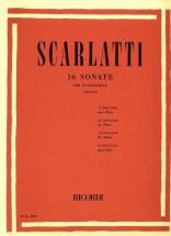 Scarlatti D. - 16 Sonate - Piano