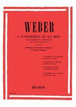 Weber C.m. - Concerto N.1 In Fa Min. Op.73 - Clarinette Et Piano