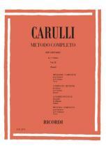 Carulli F. - Metodo Completo Per Chitarra Vol. Ii