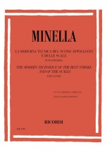 Minella - The Modern Technique Of The Rest Stroke And Of The Scales For Guitar