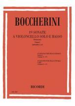 Boccherini L. - 19 Sonatas Vol. I  G.1-9 - Violoncelle Et Piano
