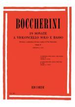 Boccherini L. - 19 Sonatas Vol. Ii  G.10-19 - Violoncelle Et Piano