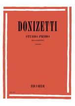 Donizetti G. - Studio Primo - Clarinette