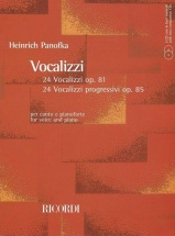 Panofka H. - Vocalizzi Con Accompagnamento Di Pianoforte + 2 Cd