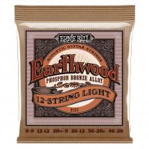 Ernie Ball Slinky Acoustique 12 Cordes 9-9 / 46-26 2153