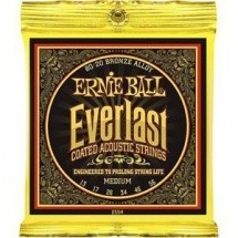 Ernie Ball Everlast Coated Acoustic Bronze Alloy Medium 13-56 2554