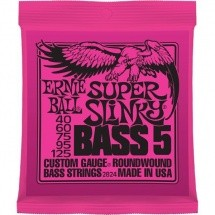 Ernie Ball Super Slinky Bass 5 Cordes 40-125 2824