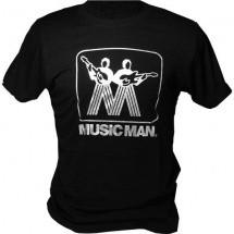 Ernie Ball Tshirt Music Man Xl Noir