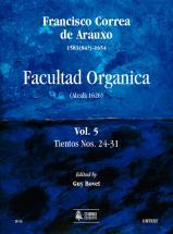 Correa De Arauxo Francisco - Facultad Organica (alcala 1626) Vol.5 : Tientos N°24-31