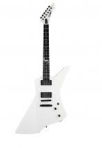 Esp Gev Snakebyte-wh Guitares Electriques Serie Signatures James Hetfield Blanc Opaque