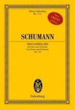 Schumann R. - Neujahrslied Op. 144 - Voix
