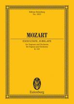 Mozart W.a. - Exsultate, Jubilate  Kv 165 - Soprano And Orchestra