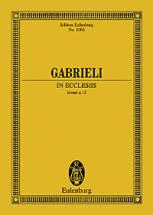 Gabrieli G. - In Exclesiis - Mixed Choir (satb) With Soloists (satb), 6 Instruments