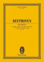 Beethoven Ludwig Van - Piano Quartet Eb Major Op 16 - Piano, Violin, Viola And Cello