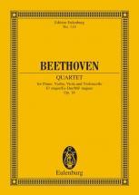 Beethoven Ludwig Van - Piano Quartet Eb Major Op 16 - Piano, Violin, Viola And Cello