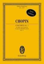Chopin Frederic - Concerto No. 1 E Minor Op. 11 - Piano And Orchestra