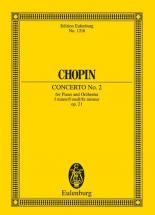 Chopin Frederic - Piano Concerto No.2 F Minor Op.21 - Piano And Orchestra