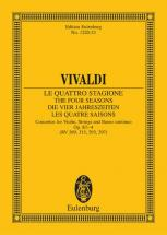 Vivaldi Antonio - The Four Seasons Op 8/1 Rv 269 / Pv 241 - Violin, Strings And Basso Continuo