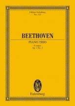 Beethoven Ludwig Van - Piano Trio No. 2 G Major Op. 1/2 - Piano Trio