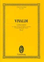 Vivaldi Antonio - Concerto D Major Op. 7/11 Rv 208 / Pv 151 - Violin, Strings And Basso Continuo