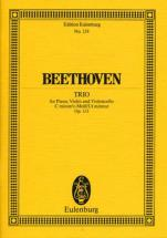 Beethoven Ludwig Van - Piano Trio No 3 C Minor Op 1/3 - Piano Trio