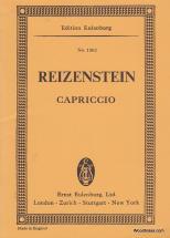 Reizenstein F. - Capriccio For Small Orchestra - Conducteur