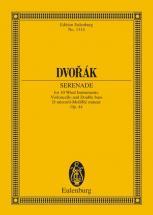 Dvorak Antonin - Serenade D Minor Op 44 B 77 - 10 Wind Instruments, Cello And Double Bass