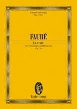 Faure Gabriel - Elegie Op.24 - Score