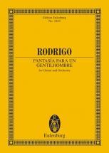 Rodrigo Joaquin - Fantasia Para Un Gentilhombre - Guitar And Orchestra