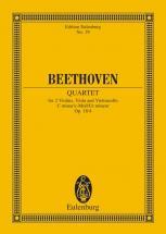 Beethoven Ludwig Van - String Quartet C Minor Op 18/4 - String Quartet