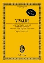 Vivaldi Antonio - The Four Seasons Op. 8/1-4 Rv 269, 315, 293, 297 / Pv 241, 336, 257, 442 - Violin,