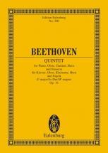 Beethoven Ludwig Van - Quintet Eb Major Op. 16 - Piano, Oboe, Clarinet, Horn And Bassoon