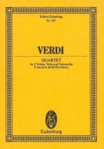 Verdi Giuseppe - String Quartet E Minor - String Quartet
