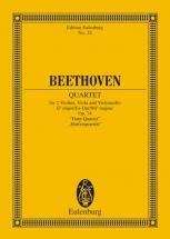 Beethoven Ludwig Van - String Quartet Eb Major Op 74 - String Quartet
