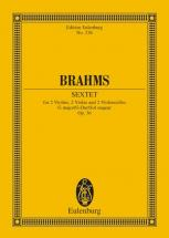 Brahms Johannes - String Sextet G Major Op. 36 - 2 Violins, 2 Violas And 2 Cellos