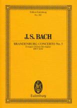 Bach J.s. - Brandenburg Concerto No 5 D Major  Bwv 1050