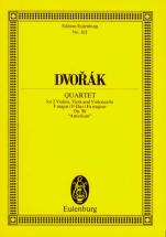 Dvorak Antonin - String Quartet F Major Op. 96 B 179 - String Quartet