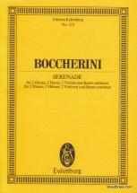 Boccherini Luigi - Serenade D Major - 2 Oboes, 2 Horns, 2 Violins And Basso Continuo
