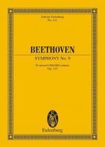 Beethoven L.v. - Symphony No. 9 D Minor Op. 125 - 4 Solo Parts, Gemischten Choir And Orchestra