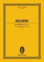 Brahms Johannes - Symphony No 2 D Major Op 73 - Orchestra